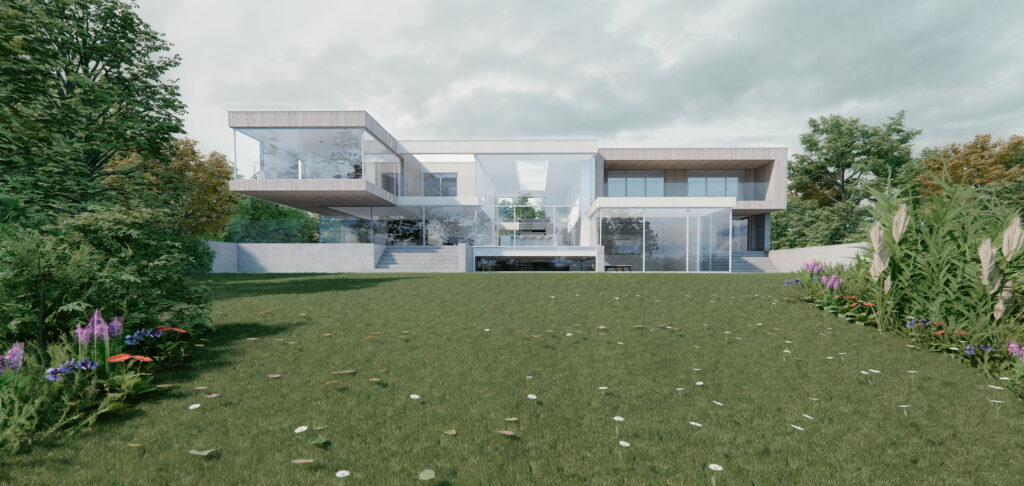 arge Lake House with Big Green Garden on National Greenbelt Site in West Lancashire with Planning Permission